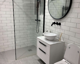 Bathroom converted